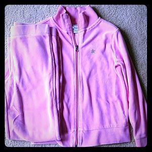Light Pink Valor Sweatsuit set